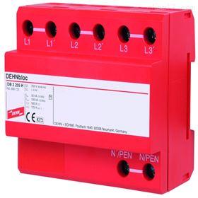 德国DEHN浪涌961122盾牌电源防雷器DBH M 1 255电涌保护器特价