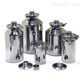 Sampling Systems A418GMP FDA GL45内螺纹的不锈钢罐(1至30升)