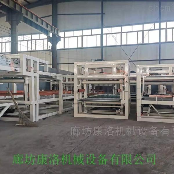 压制型匀质聚苯保温板生产线