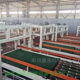 全自动水泥匀质颗粒板设备生产运行原理