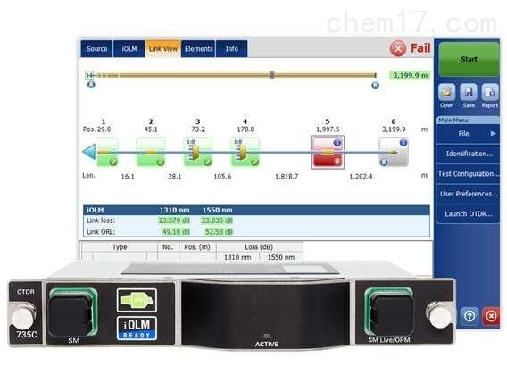 FTBx-735C - 城域网/PON FTTx/MDU OTDR