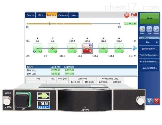 FTBx-720C - LAN/WAN接入网OTDR