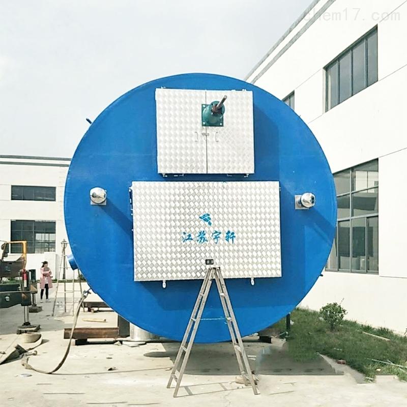 安徽芜湖地埋式一体化雨水泵站厂家