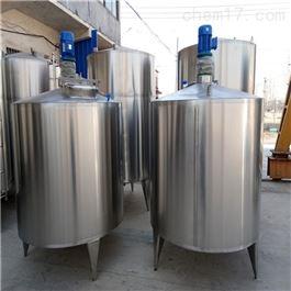 二手5吨不锈钢胶水搅拌罐