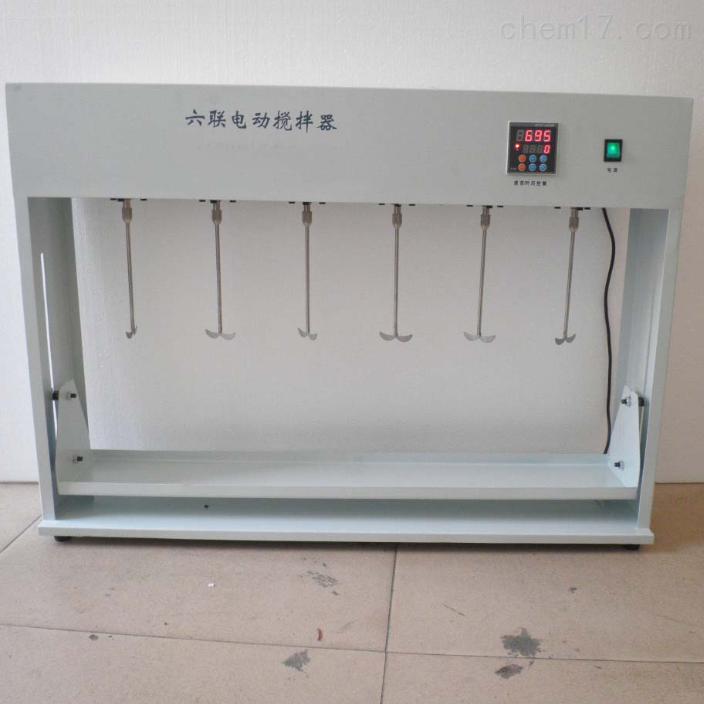 六联自动升降搅拌器