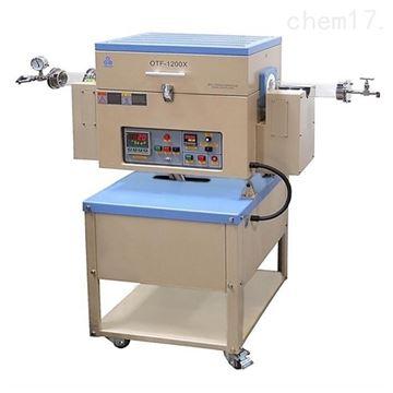 OTF-1200X-4-R合肥科晶1200℃單溫區可傾斜旋轉爐