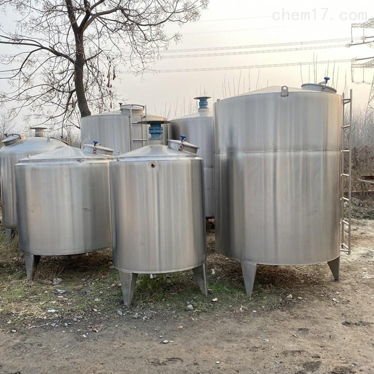 销售二手5吨不锈钢加热保温搅拌罐