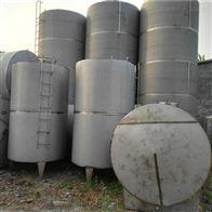 供应二手50立方不锈钢储存罐 加工定做