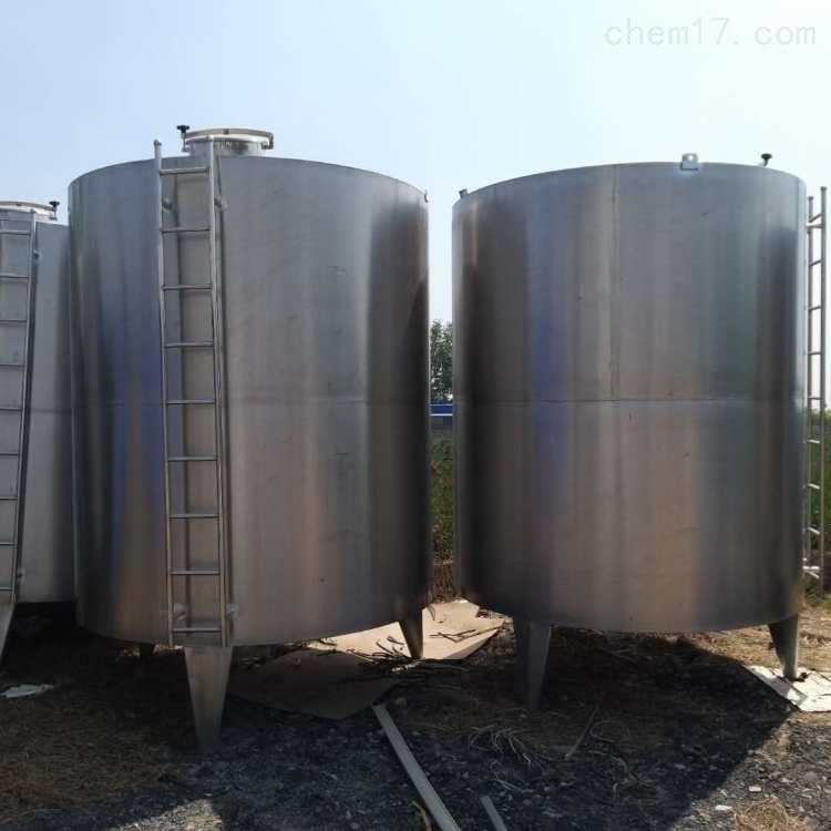 厂家处理二手16立方不锈钢搅拌罐