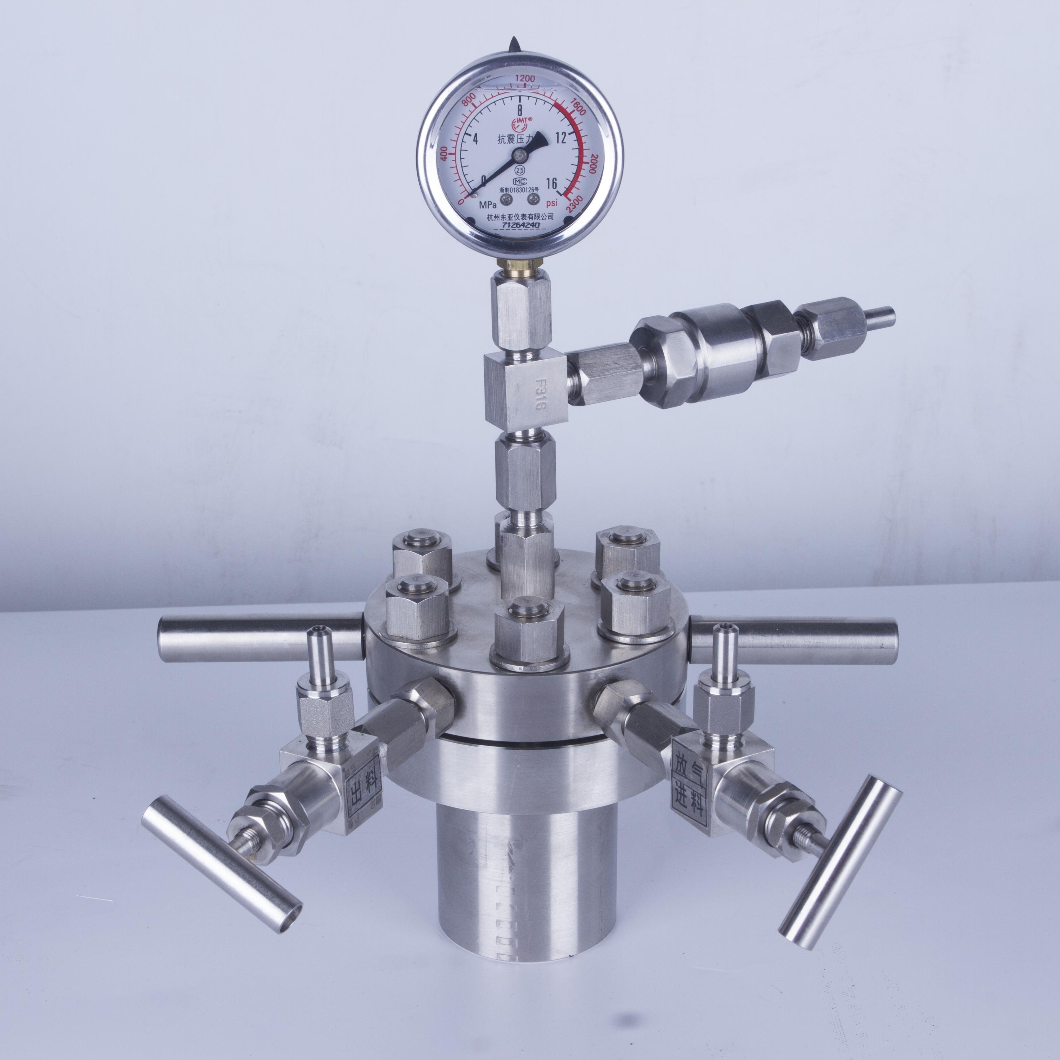 简易高压反应釜CF-0.05L不锈钢小型