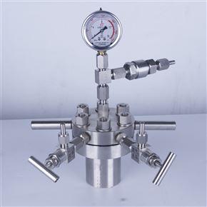 简易高压反应釜CF-1L不锈钢耐高温