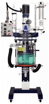 GRL系列10~50L防爆升降双层玻璃反应釜