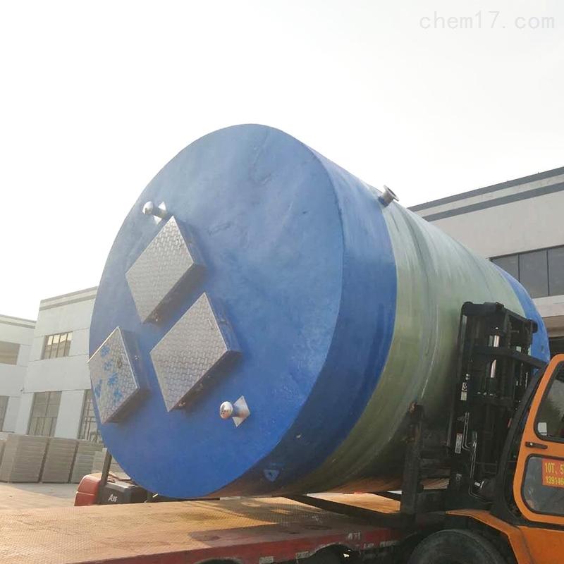 浙江地埋式一体化市政污水提升泵站