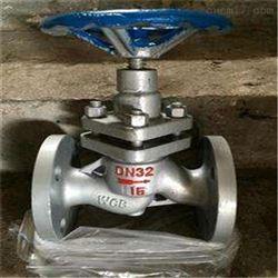 UJ41H高压柱塞截止阀大口径