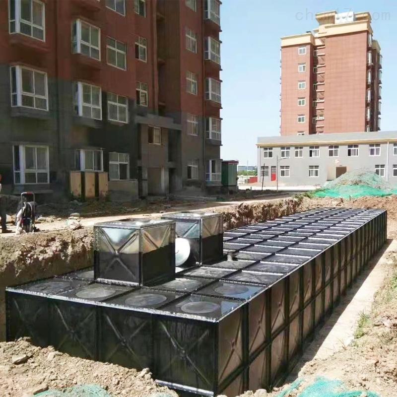 保定抗浮地埋箱泵一体化泵站水箱