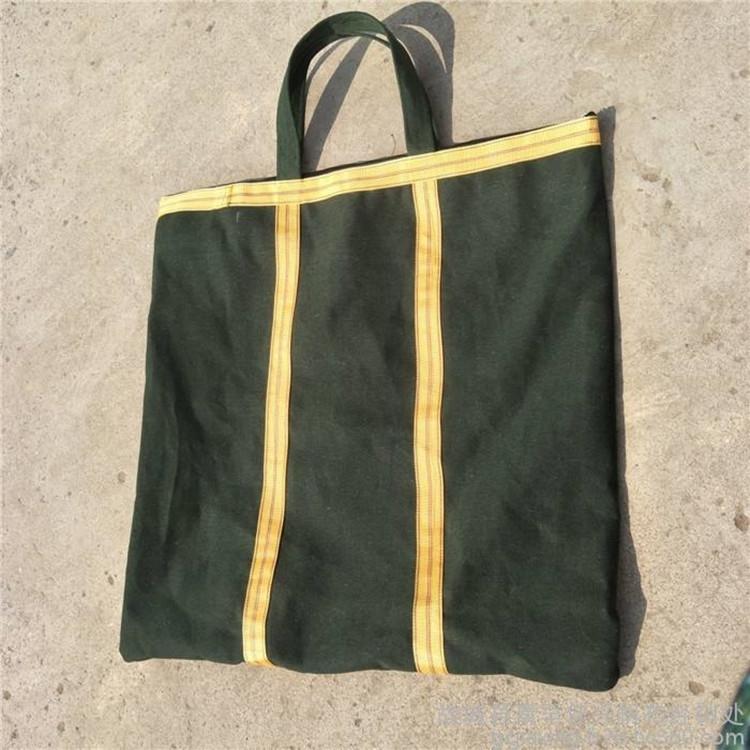 涂覆帆布沥青包装袋硅胶