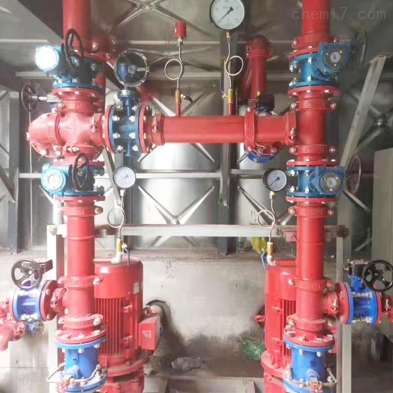 镇江地埋式消防给水设备现场组装的厂家报价