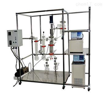 食品业用薄膜蒸发器刮板式减压蒸馏装置