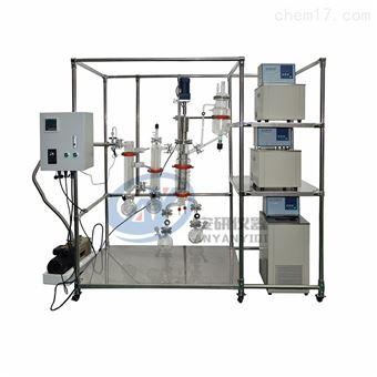 真空膜式蒸馏设备AYAN-B100化工薄膜蒸发器