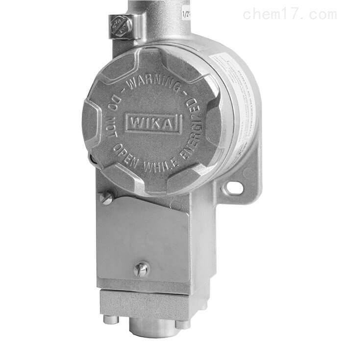 鄂州WIKA威卡紧凑型压力开关适用于过程工业