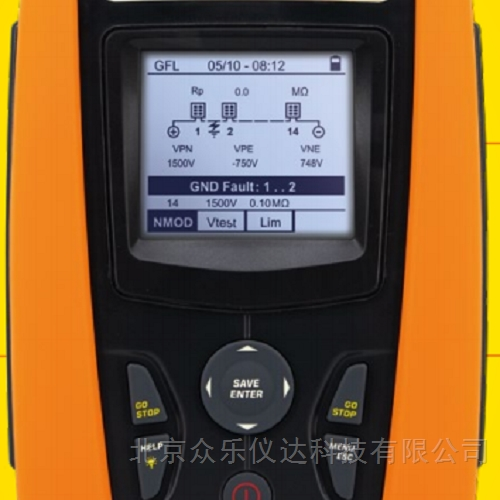 光伏系统测试和故障排除仪器PV-ISOTEST