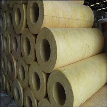 27-1220热力管道保温岩棉保温管人员施工价格