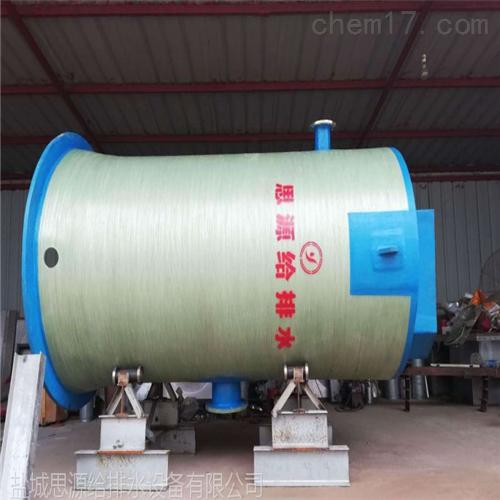 玻璃鋼一體化預制泵站適用場合及特點