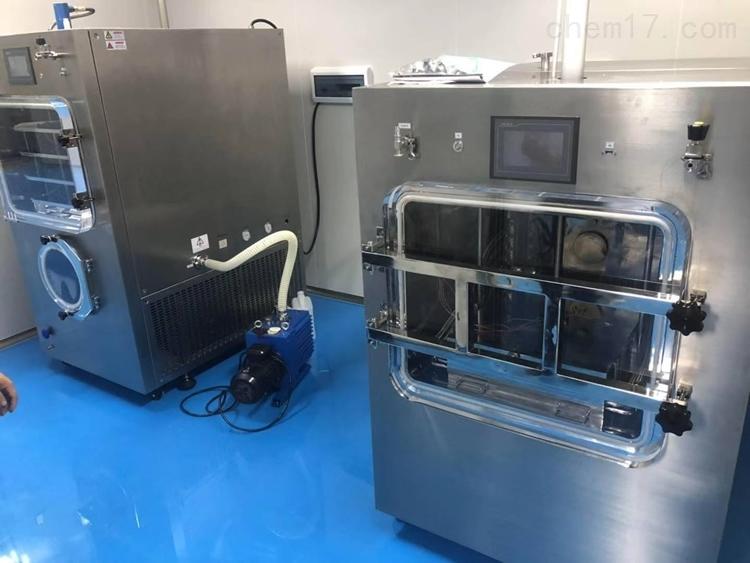 LGJ-100F压盖型硅油加热冷冻干燥机
