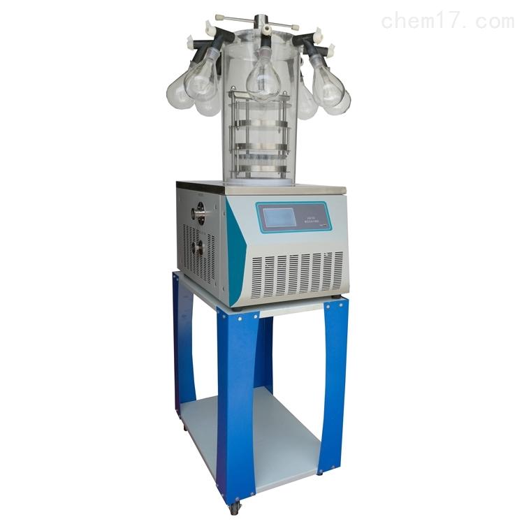 LGJ-10台式实验室多歧管压盖冻干机
