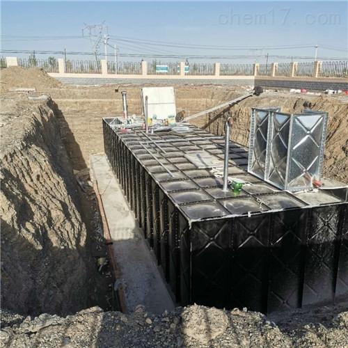 抗浮式地埋箱泵一体化一般规格