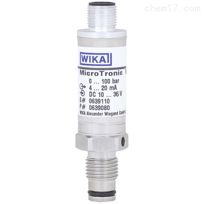 WIKA威卡微型压力变送器标准型或带平嵌隔膜
