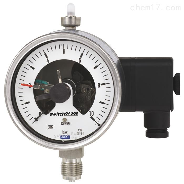 WIKA威卡带开关电接点的波登管压力表报价