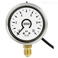 PGS25WIKA威卡带电子压力开关的波登管压力表现货