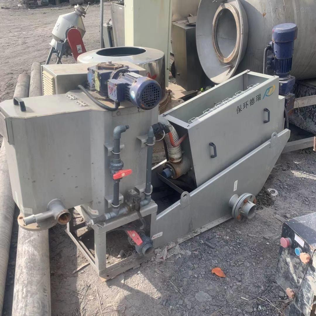 二手131型叠螺式污泥脱水机