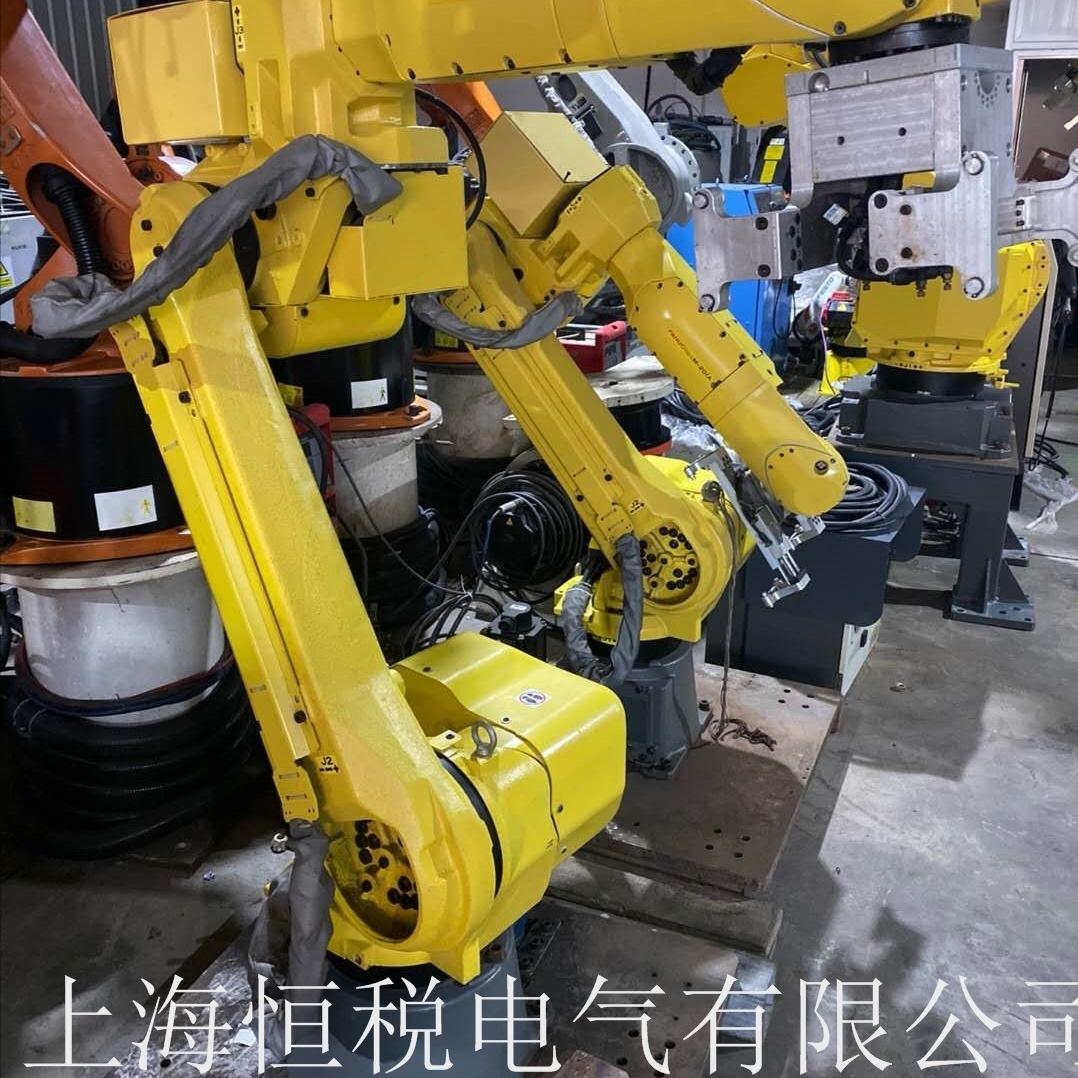 FANUC机器人示教器开机启动不了可上门维修