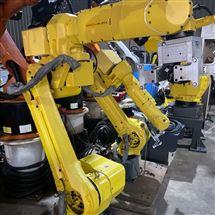 FANUC维修保养发那科机器人示教器启动进不了系统界面修理