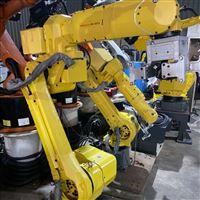 发那科机器人示教器开机启动无反应修理厂家
