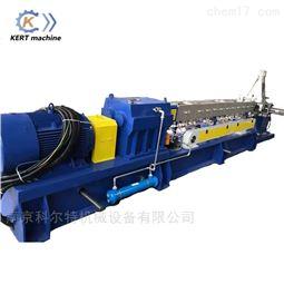 高质量HDPE+Caco3塑料颗粒双螺杆挤出机