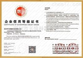 企业信用等级证书-AAA级