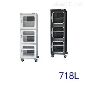 CTC718D超低湿三门电子防潮箱防潮柜数码显示