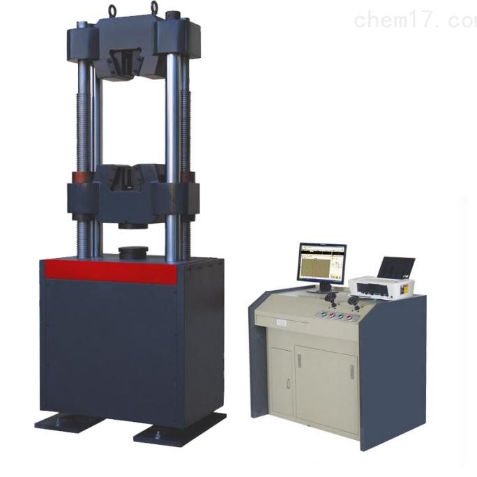 手动阀控制数显式液压万能试验机