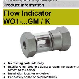 WO1-...GM / KHonsberg流量计流量开关流量显示器