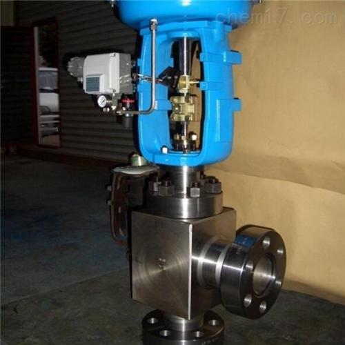 气动薄膜角型高压调节阀