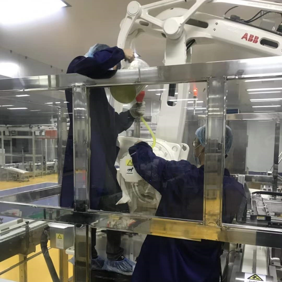 ABB机器人开机启动后报警无法使用售后维修