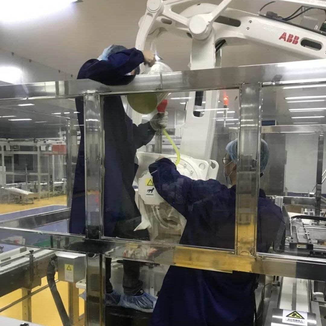 ABB机器人与所有驱动单元的通信中断修理