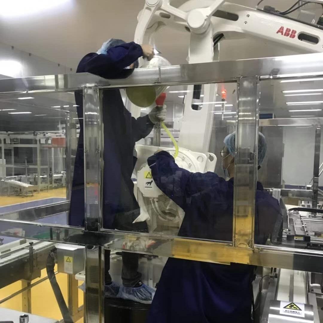 ABB机器人报警泄流电阻电路短路修理解决