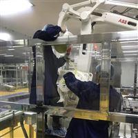 ABB机器人报警驱动晶体管的电流太大修理