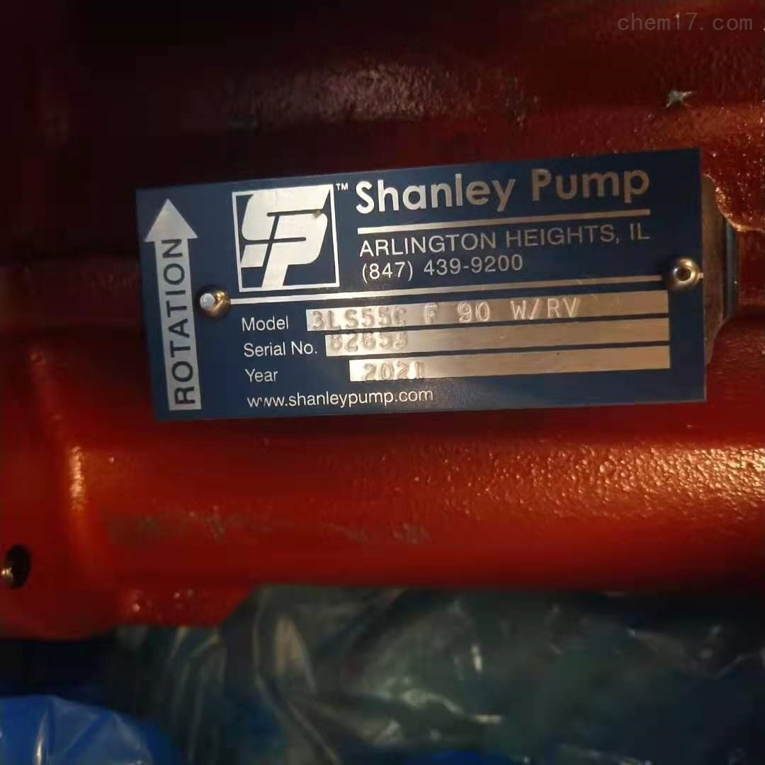 美国SHANLEY PUMP螺杆泵