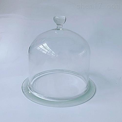抽真空带把手玻璃罩 玻璃钟罩 展示罩
