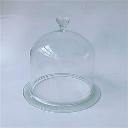 270*300mm抽真空带把手玻璃罩 玻璃钟罩 展示罩